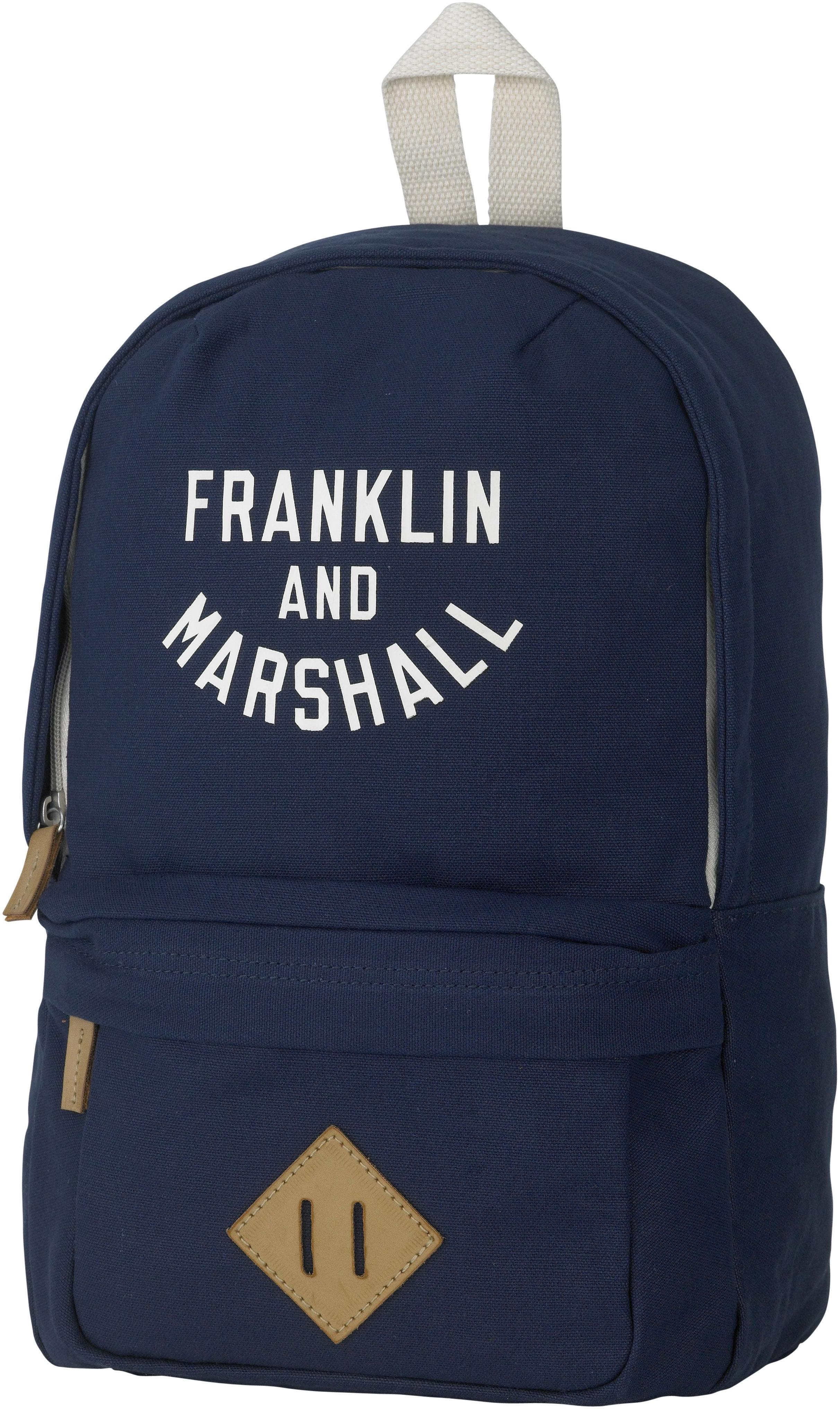 Franklin & Marshall, Rucksack, »Boys Backpack, dunkelblau« | Taschen > Rucksäcke > Sonstige Rucksäcke | Blau | Polyester | FRANKLIN & MARSHALL