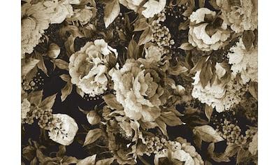 CONSALNET Papiertapete »Muster / grüne Blumen«, in verschiedenen Größen kaufen
