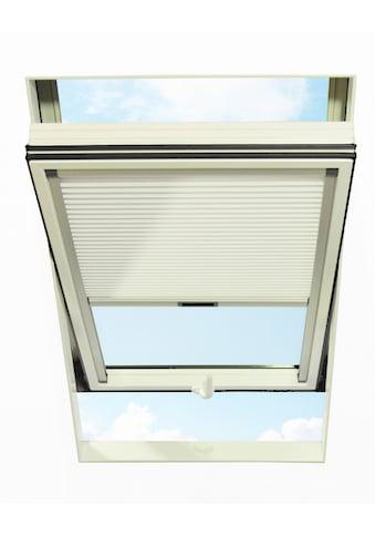 RORO Türen & Fenster Dachfensterplissee, blickdicht, in Führungsschienen, BxH: 114x118 cm kaufen