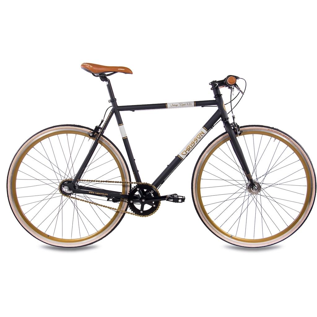 Chrisson Urbanbike »Vintage Road N3«, Nabenschaltung, (1 tlg.)