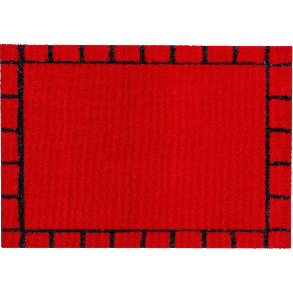 ASTRA Fußmatte »Miabella 1669«, rechteckig, 7 mm Höhe, Schmutzfangmatte, In -und Outdoor geeignet