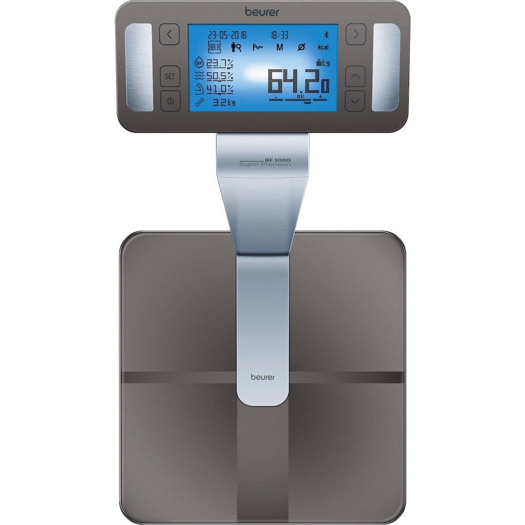 BEURER Körper-Analyse-Waage »BF 1000«, Messung des viszeralen Fettanteils