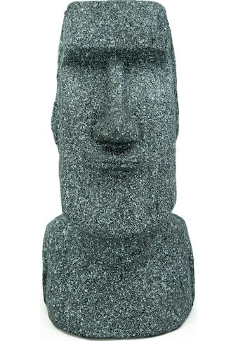 NOOR LIVING Gartenfigur »Osterinsel Skulptur Moai Kopf L« kaufen