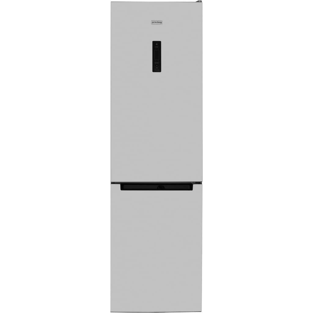 Privileg Kühl-/Gefrierkombination »PRBN 396S A+++«, PRBN 396S A+++, 201 cm hoch, 60 cm breit