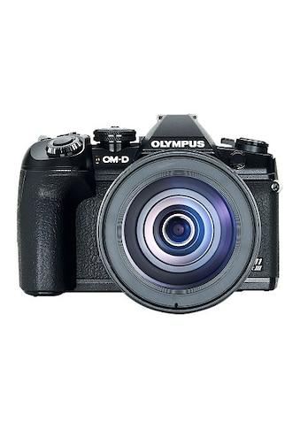 Olympus »E - M1 Mark III 12 - 100mm Kit blk/blk« Spiegelreflexkamera (21,8 MP, WLAN (WiFi) Bluetooth) kaufen