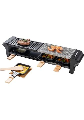 bestron Raclette »Grill für 4 Personen, Elektrischer Tischgrill mit 4 Pfännchen, 4... kaufen