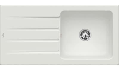 VILLEROY & BOCH Küchenspüle »Architectura 60«, inkl. Ablaufgarnitur mit Handbetätigung, 1000 x 510 mm kaufen