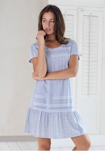s.Oliver Bodywear Nachthemd, mit Allover-Druck kaufen