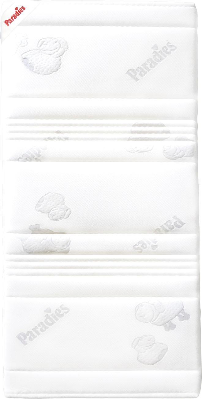 Kindermatratze »Melina«, Paradies, 10 cm hoch | Kinderzimmer > Textilien für Kinder > Kinderbettwäsche | Weiß | PARADIES