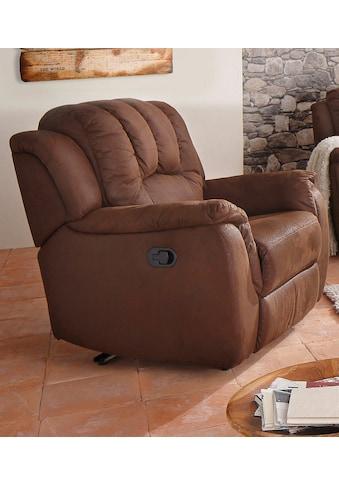 Home affaire XXL-Sessel »Marko«, mit großzügiger Relaxfunktion kaufen
