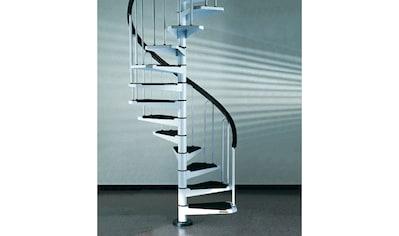 STARWOOD Spindeltreppe »AF26«, B: 100 cm, 12 Stufen, weiß kaufen