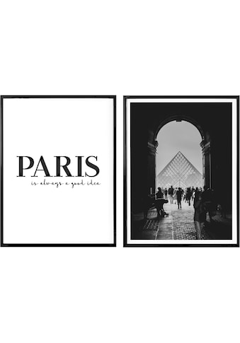 Poster »Paris is always a good idea« (Set) kaufen