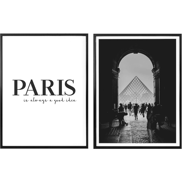Poster »Paris is always a good idea« (Set)