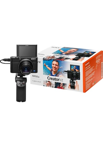 Sony Kompaktkamera »DSC-RX100 III G«, 24-70mm Carl Zeiss Vario Sonnar T* Objektiv (F1.8-F2.8), inkl. VCT-SGR1 Stativgriff kaufen