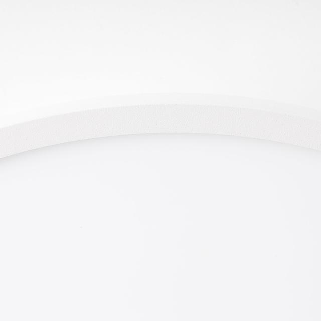Brilliant Leuchten Buffi LED Deckenaufbau-Paneel 25cm sand/weiß/warmweiß