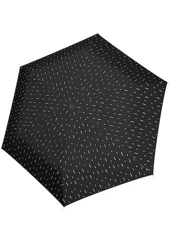 Knirps® Taschenregenschirm »US.050 Ultra Light Slim Manual, rain black« kaufen
