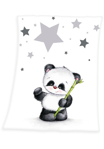 Baby Best Babydecke »Fynn Panda«, mit Panda-Motiv kaufen