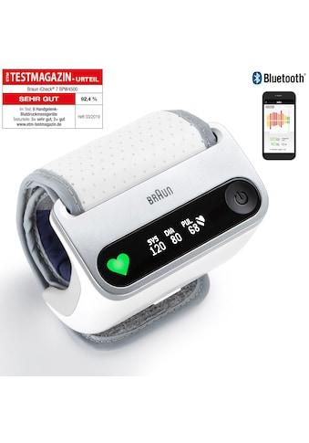 Braun Handgelenk-Blutdruckmessgerät »BPW4500 iCheck® 7« kaufen