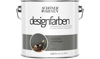 SCHÖNER WOHNEN-Kollektion Wand- und Deckenfarbe »Designfarben«, klassisches... kaufen
