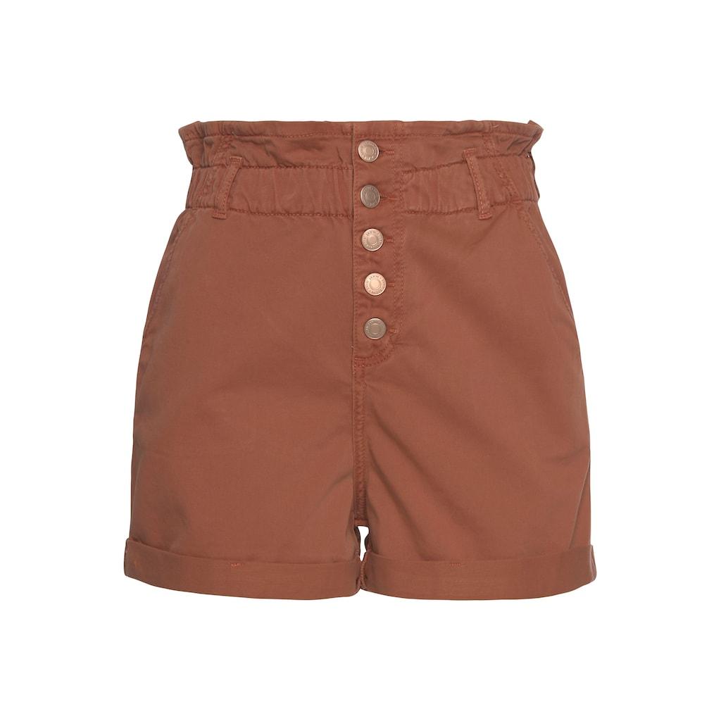 Mavi Shorts »TAYLOR«, mit offenener Knopfleiste