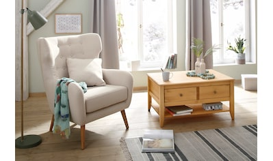 Home affaire Ohrensessel »Yamuna«, mit toller Sitzpolsterung, Gestell und Füße aus... kaufen