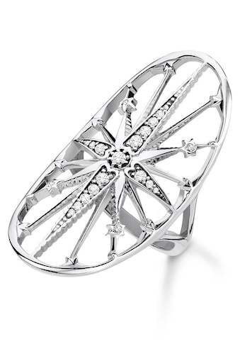 THOMAS SABO Silberring »Royalty Stern silber, TR2222 - 643 - 14 - 50, 52, 54, 56, 58, 60« kaufen