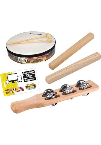 """Voggenreiter Spielzeug - Musikinstrument """"Rhythmic Village Percussion - Set"""", (Set, 5 - tlg.) kaufen"""