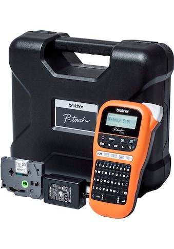 Brother mobiler Drucker »PT-E110« kaufen