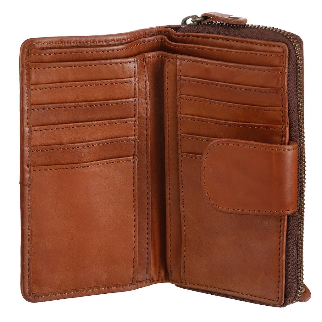 HARBOUR 2nd Geldbörse, aus Leder mit praktischer Einteilung