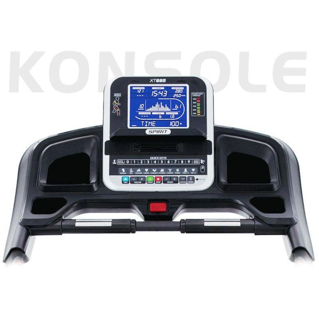 Spirit Fitness Laufband »XT 685«