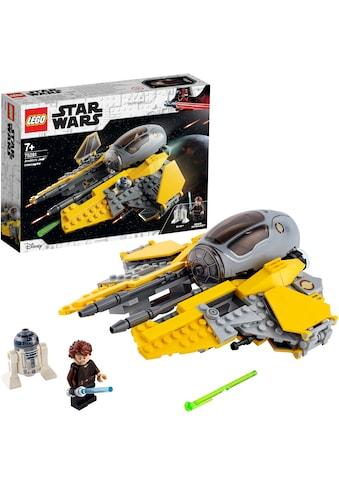 """LEGO® Konstruktionsspielsteine """"Anakins Jedi™ Interceptor (75281), LEGO® Star Wars™"""", Kunststoff, (248 - tlg.) kaufen"""