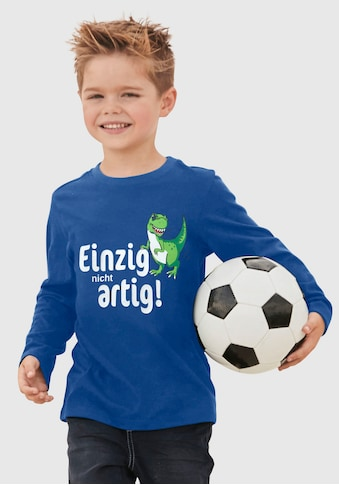 KIDSWORLD Langarmshirt »Einzig nicht artig!« kaufen