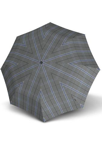 Knirps® Taschenregenschirm »T.200 Medium Duomatic, Check Grey« kaufen