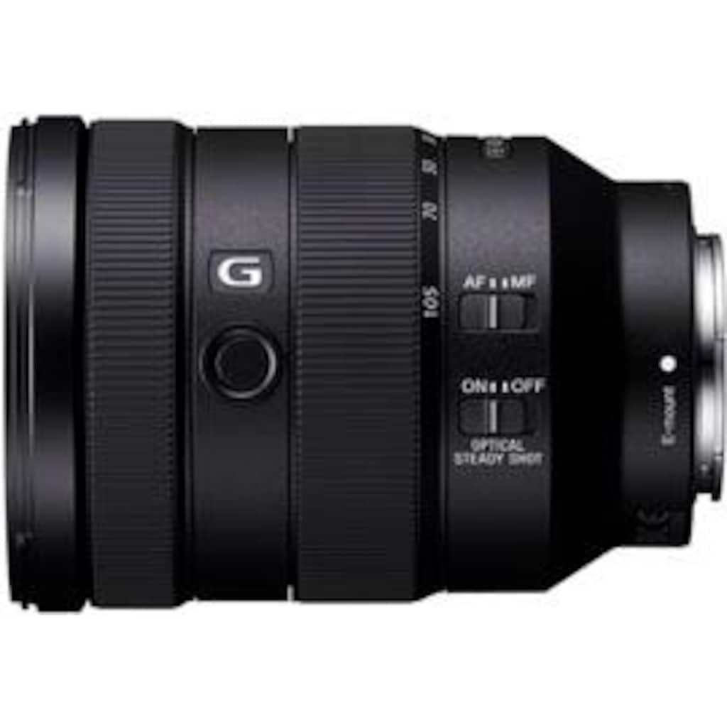 Sony Objektiv »SEL-24105G E-Mount Vollformat G«, E 85mm F1.4, OSS, APS-C