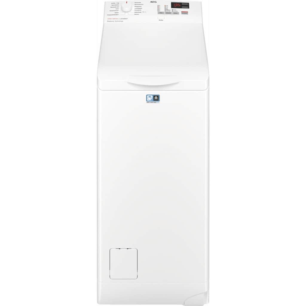 AEG Waschmaschine Toplader »L6TB41270«, 6000, L6TB41270, Nachlegefunktion