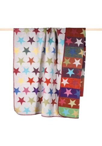 PAD Wohndecke »Stars«, mit bunten Sternen kaufen