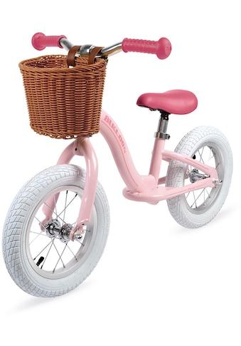 Janod Laufrad »Vintage-Bikloon, rosa«, mit Korb kaufen