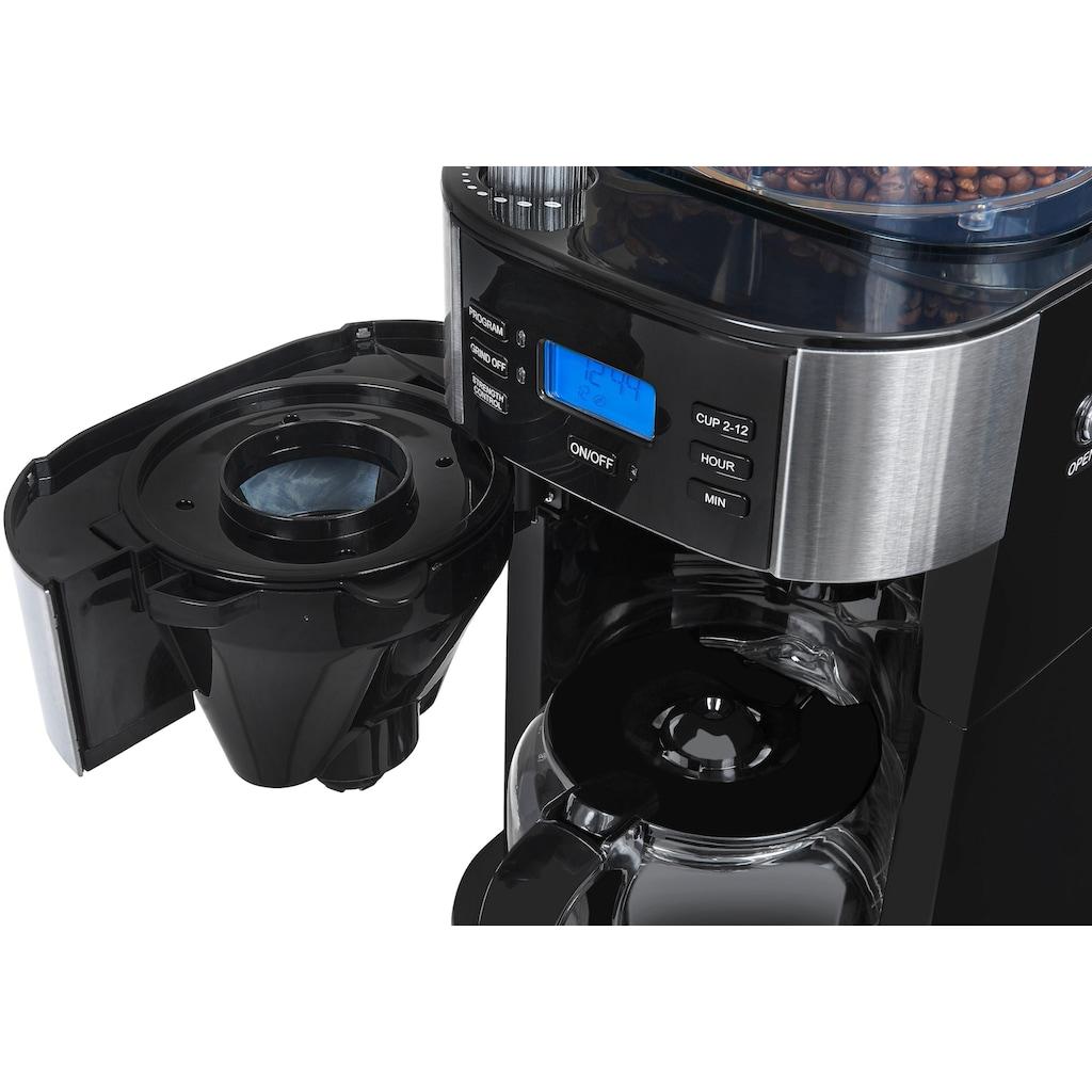 Gutfels Kaffeemaschine mit Mahlwerk »KA 8102 swi«, Papierfilter, 1x4