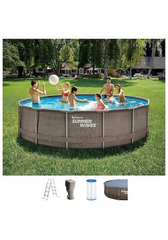 SummerWaves Rundpool »Active Frame«, ØxH: 457x106 cm kaufen