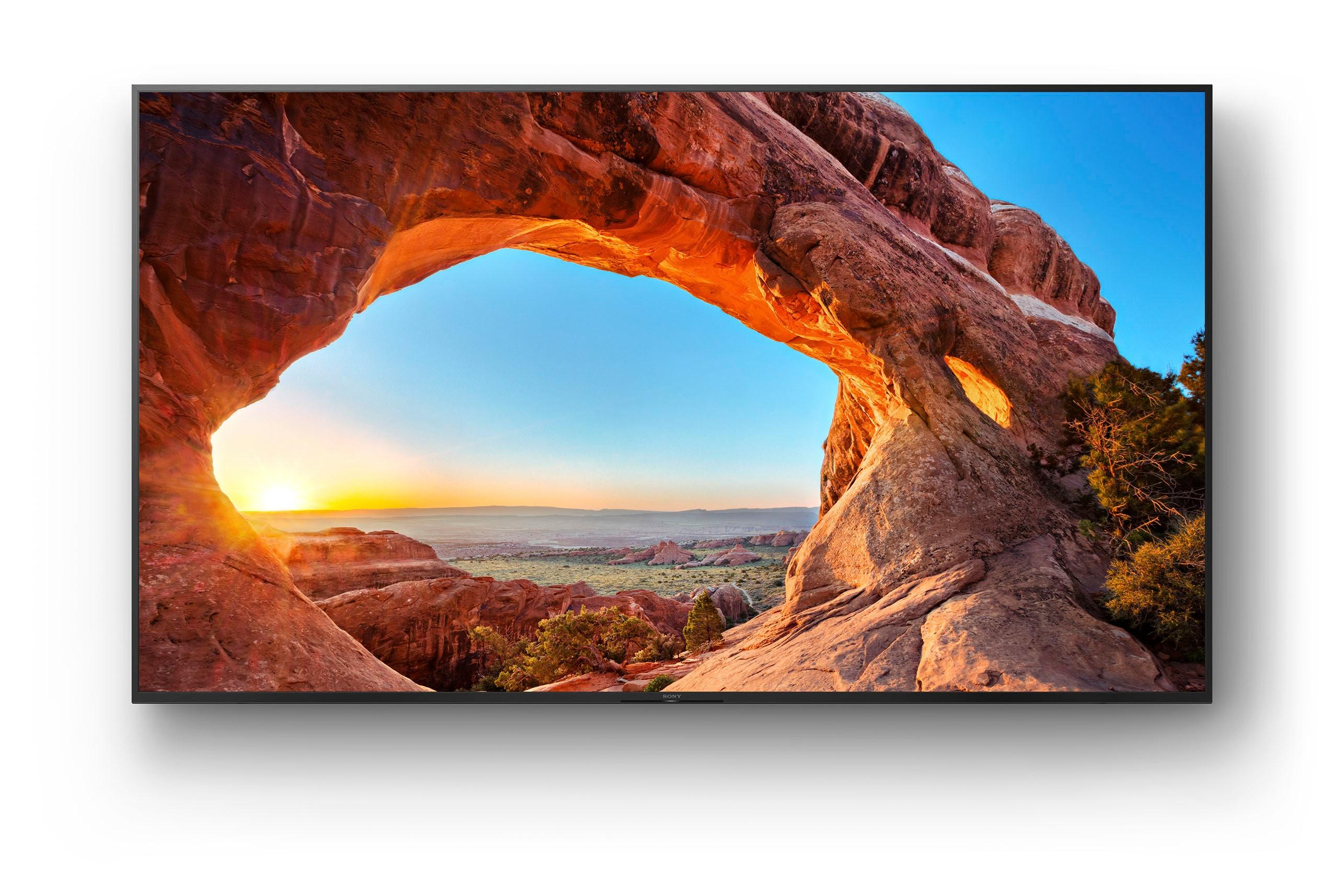 Sony LCD-LED Fernseher KD-85X85J , 215 cm 85 , 4K Ultra HD, Smart-TV, Smart TV