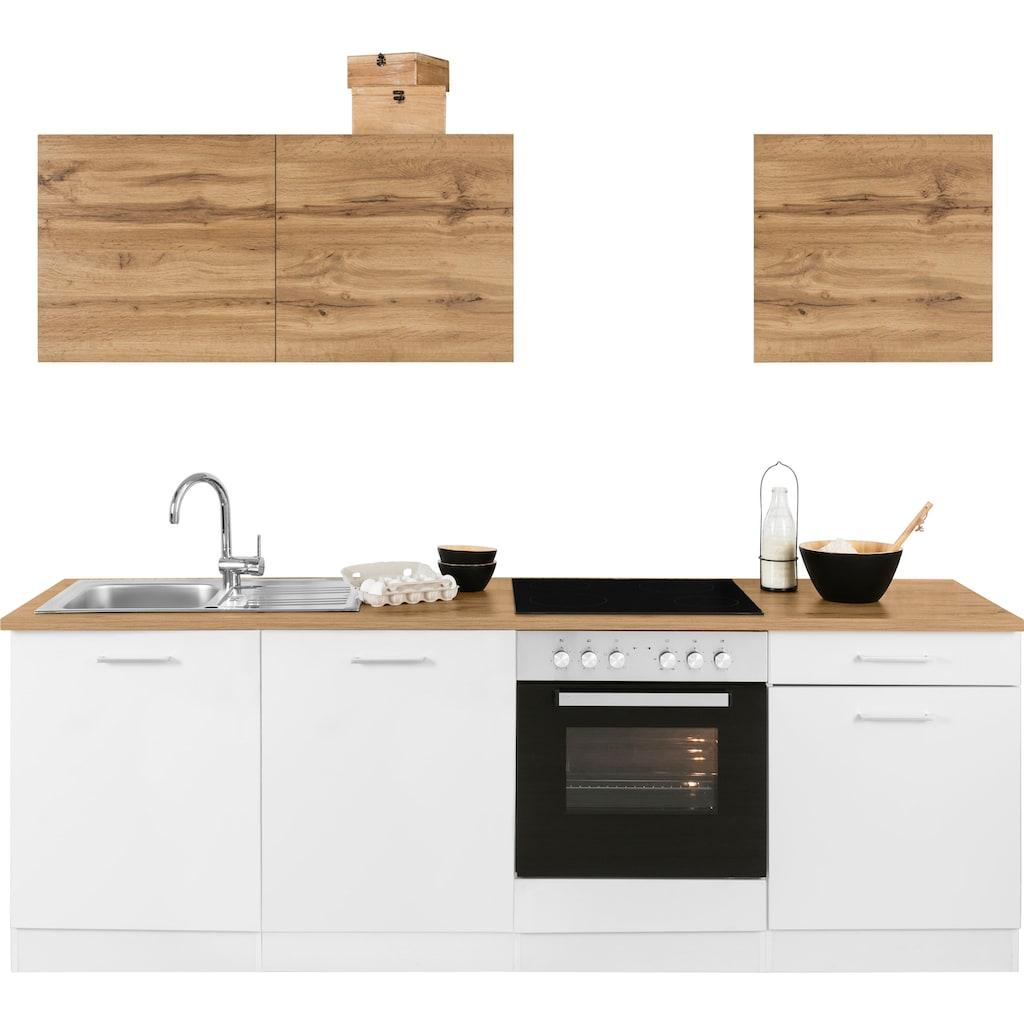 HELD MÖBEL Küchenzeile »Kehl«, ohne E-Geräte, Breite 240 cm