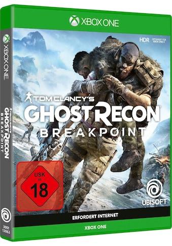UBISOFT Spiel »Tom Clancy's Ghost Recon Breakpoint«, Xbox One kaufen