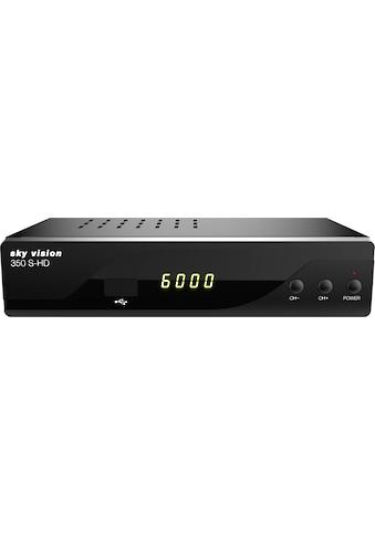 Sky Vision Satellitenreceiver »350 S-HD HDTV«, (LAN (Ethernet) EPG (elektronische... kaufen