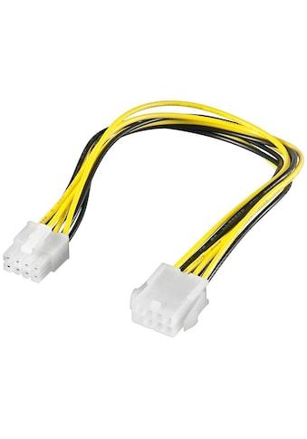 Goobay PC Stromkabel »Verlängerung EPS; 8 Pin« kaufen
