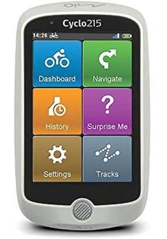 """Mio Navigationsgerät »Fahrradnavigationsgerät, 8,89 cm(3,5""""),ANT+ Sensor«, Cyclo 215... kaufen"""