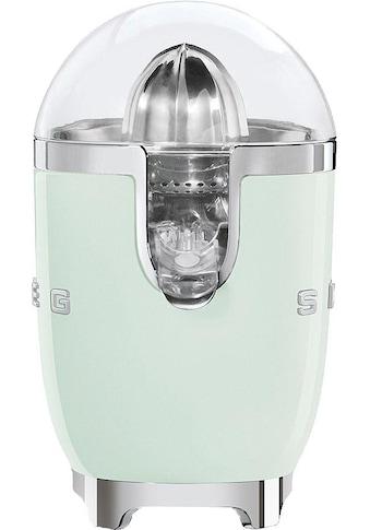 Smeg Zitruspresse CJF01PGEU, 70 Watt kaufen