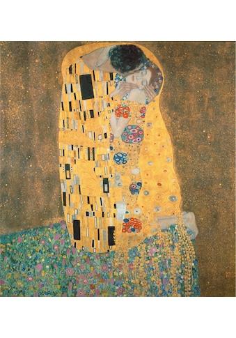 Wall-Art Vliestapete »Klimt - Der Kuss« kaufen