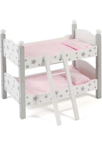 """CHIC2000 Puppenbett """"Stars Grau"""" kaufen"""