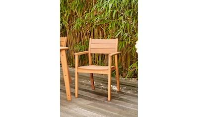 Siena Garden Stapelstuhl »Narona«, Eukalyptus, stapelbar kaufen