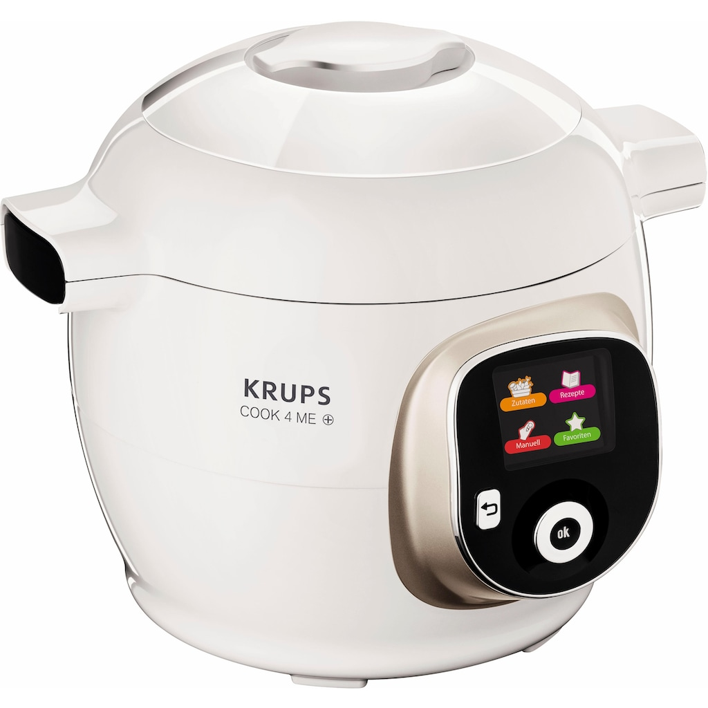 Krups Multikocher »CZ7101 Cook4Me +«, 150 vorinstallierte digitale Rezepte